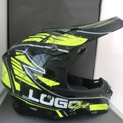 Exterior de la CEPE de cara completa de los adultos de Motocross MX off-road Dirt Bike Moto ATV CASCO