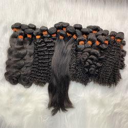 حزمة من 6 أمبير Wave Bundillian الشعر مصنع بالجملة ، الطبيعية السوداء اللون Deep Wave البشرية حزم الشعر فايف