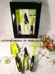 Три отрезка алюминиевого сплава сад прибора пластиковой PP + TPR Двухцветный ручки