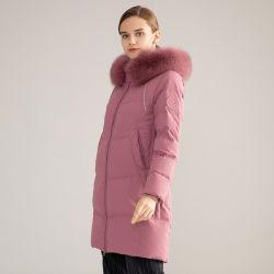 Urban Fashion Donne giù giacca da ufficio indossare stile di moda Inverno Indumenti