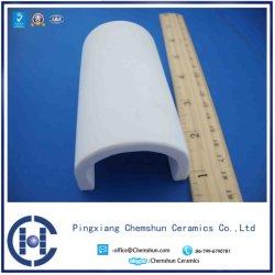 Высокая температура металлокерамические глинозема Half-Pipe