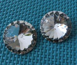 10mm 12mm Point Rivoli Retour Crystal pierre fantaisie