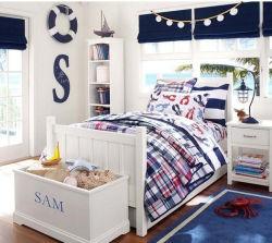 Los Niños Los niños cama de madera de estilo europeo, cuna cama (M-X1037)