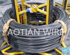 Attache de câble en acier utilisés S45C recuit Pasaip Phospahte de fil en acier recouvert de