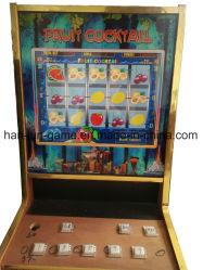 Cocktail de fruits Coin Pusher Slot Machine Jeu de hasard