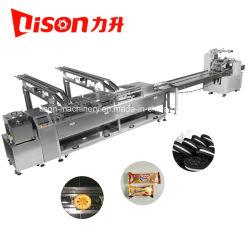 Klemmende Machine van het Koekje van de Room van Ce de Automatische met de Prijs van de Fabriek van de Lijn van de Verpakking