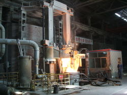 Horno de arco sumergido de la fundición de ferroaleaciones horno cuchara horno de arco eléctrico
