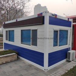 2층 현대 호화스러운 조립식 가옥 20feet 콘테이너 집 화장실