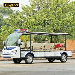 11 Seater lange Warnungs-Licht-Patrouillen-besichtigenbus