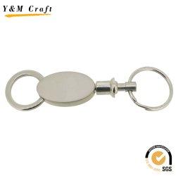 Sonderanferm. Design Mit Unterschiedlichem Farbmuster, Unbeschriftete Schlüsselkette aus Metall (Y02463)