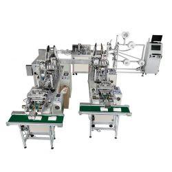 Masque de haute capacité de production Making Machine KN95/N95 masque non tissés jetables Automatique La machine