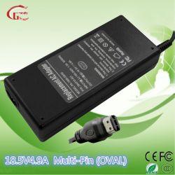 HP Compaq/Acer/Liteon/Asus/Samsung/песни/Ls/шлюз/портативных компьютеров Dell адаптер питания для ноутбуков детали 18.5V 4.9A