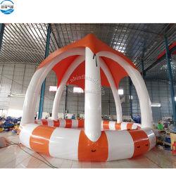 Piscine gonflable personnalisé avec des jouets gonflables pour l'eau de tentes de jeu pour la vente