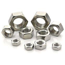 Commerce de gros de haute qualité personnalisés DIN 934 Écrous hexagonaux en acier inoxydable
