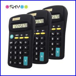 Regalo promocional de 8 dígitos calculadora de bolsillo electrónica Solar de escritorio