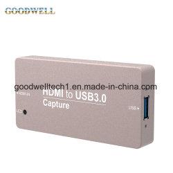 Fatto della Cina del metallo nel mini HDMI Conveter video bloccaggio tenuto in mano della cassa