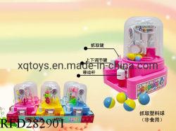 Bola de captura de caramelos de plástico Máquina pinza Mini juego de mesa