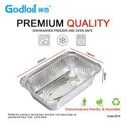 Одноразовые контейнеры из алюминиевой фольги пакет с пластиковой Alumimnum кромки