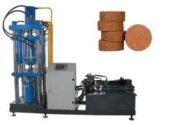Appuyez sur la poudre de briquettes de tourbe de coco Tablet Appuyez sur une presse hydraulique des machines faisant l'équipement de bloc de comprimer la poudre de tablette machine de formage
