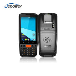 PDA portatile con scanner per codici a barre 4G WiFi NFC digitale a infrarossi Termometro
