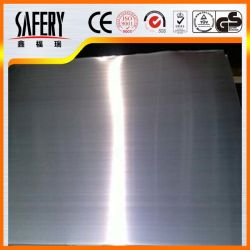 سطحه بالمرآة Ba 8K مصنوع من الفولاذ المقاوم للصدأ مع طبقة من مادة PVC
