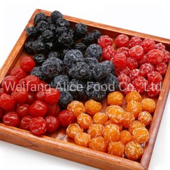 중국은 과일 공급자 설탕졸임 자두 감미로운 맛에 의하여 말린 자두를 보존했다