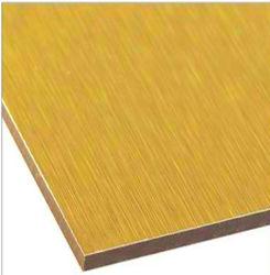 Coloré et 15-20ans de garantie du matériel de décoration--d'aluminium panneau composite en plastique