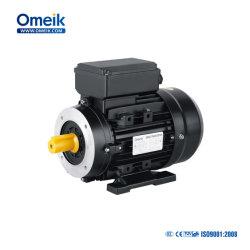Высокое качество дешевле моя 0.37квт 0,55 квт 0,75 квт IE1, IE2, IE3 однофазного конденсатор с электродвигателем
