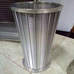 AISI 304 304L 316 л клин провод Джонсон клин провод экран воды фильтр, плоский сварной проволоки клина экран для скважин