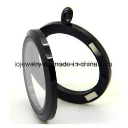 磁気円形のガラスロケットのステンレス鋼の宝石類