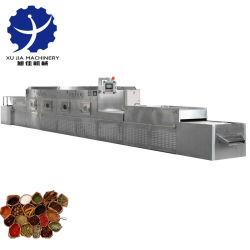 Secador de microondas de tempero condimentos equipamento de esterilização de secagem