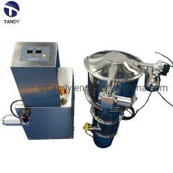 ماكينة مغذي تفريغ بمغذي الدفع الأوتوماتيكي من الفولاذ المقاوم للصدأ لمدة نشا الذرة