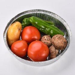 알루미늄 호일 항공 처분할 수 있는 음식 식사 상자 콘테이너