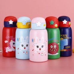 Muur 304 van de Jonge geitjes BPA van Thermoses van de Flessen van de Baby van Fga isoleerde Vacuüm Vrije Dubbele de Kinderen van de Tuimelschakelaar van het Roestvrij staal de Fles van het Hete Water
