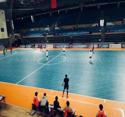 中国最上質PVCプラスチック伸縮性Futsalはスポーツの床を招く
