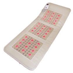 كهرمغنطيسيّ تورمالين خزفيّة يشم حجارة فوتون حرارة حصيرة يشبع جسم [هتينغ بد] كهربائيّة بعيد أشعّة تحت الحمراء ساخن خلفيّ [لومبر] سرير فراش