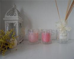 Оптовая торговля стеклянный кувшин при свечах съемка при свечах чашка для принятия решений в форме свечи