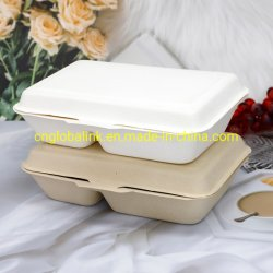 생분해성 슈가 Cune Bagasse 식품 포장 용기 친환경 식품 컨테이너