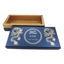 Shenzhen Custom Hot Shoil Stamping Gold Paper Packaging scatole regalo