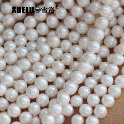 9-10mm uma qualidade genuína branca cultivados naturais de água fresca Strings Pérola Fornecedor (XL180011)