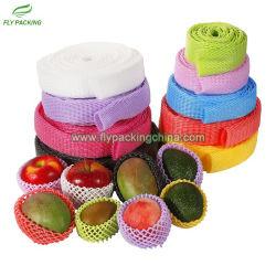 Rede de protecção de frutos em espuma PE Malha contínuo coloridos