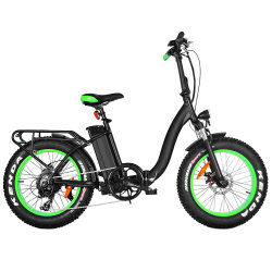 Jd-20A05 Step-Through bicyclettes 500W 48V Fat Vélos Électriques de pliage des pneus