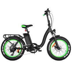 Mesdames bicyclettes 500W 48V Fat Vélos Électriques de pliage des pneus