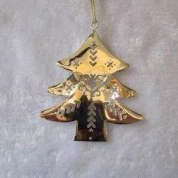 L'albero del metallo di natale per la decorazione domestica fornisce i regali del mestiere dell'ornamento di natale