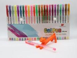 Het plastiek schittert de Pen van het Gel met MultiKleur