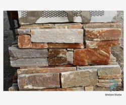 [إإكستريور ولّ] حجارة يصمّم [كلدّينغ] إسمنت جير خلفيّ, حجارة صدئة لأنّ جدار زخرفة