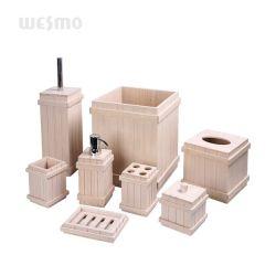 白竹製バスセットの家庭用品