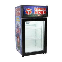 Кухонный стол холодильник для напитков охладитель дисплея энергетический напиток с навесом таблица охладителя на пиво пить охладителя