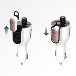 3 En1 Voiture Lecteur MP3 Bluetooth Casque Bluetooth QC3.0 Fast Charge chargeur de voiture de type C