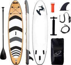 Aufblasbares Stand Up Paddle Board Surfboard mit Zubehör für Satteltaschen